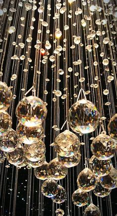 New Years Eve 2019 : Crystals wallpaper glitter New Year's Eve 2019 : Crystals - Quotes Boxes Wallpaper Natal, New Year Wallpaper, New Year's Eve 2019, Hanging Crystals, Chandelier Crystals, Bubble Chandelier, Crystal Chandeliers, Crystal Drop, Glass Crystal