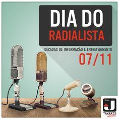 Parabéns para estes profissionais que ajudaram a construir a história de nosso País. #Rádio #Radialista