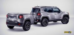 Showcar Jeep Renegade Hard Steel (Ginevra 2015)