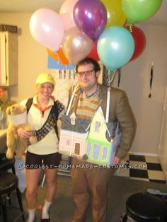 Up House Couple Costume