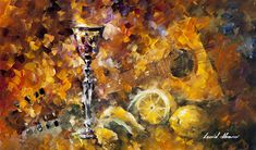 GREEK IMPRESSION-Original Oil Painting On Canvas By Leonid Afremov - https://afremov.com/GREEK-IMPRESSION-Original-Oil-Painting-On-Canvas-By-Leonid-Afremov-25-Wx15-H.html