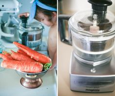 Magimix food processor with juice attachment. Love this!