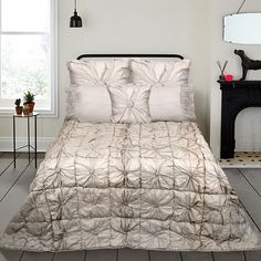 Purchase #FAUX_SILK #BED_COVER at www.home-furnishings.com