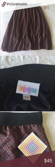 LuLaRoe - Patterned Skirt LuLaRoe - Patterned Skirt LuLaRoe Skirts