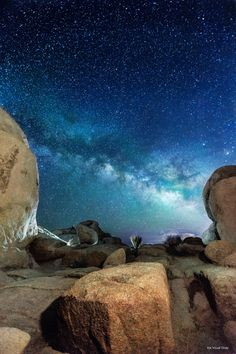 Milky Blue at Joshua Tree Nat'l Park [3840x5760][OC] -Please check the website for more pics