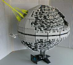 Lego Death Star... Impressive, very impressive!