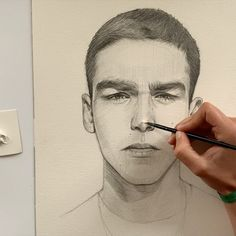 Likes, 298 Comments - Drawing Process, Best Portraits, That Look, Drawing Tutorials, Instagram, Drawings, Character, Artists, People