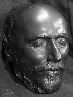 Tchaikovsky death mask