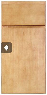 """Garage storage area: Kabinart- Manhatten cabinetry in """"Honeywood"""""""