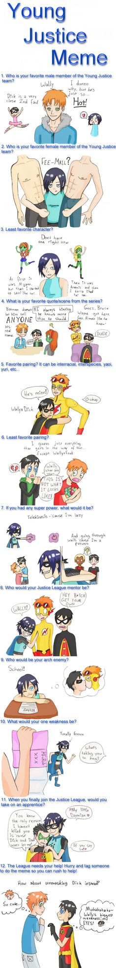 Young justice meme by ~Saegigmon on deviantART