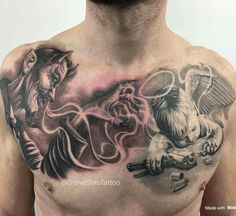 [New] The 10 Best Tattoo Ideas Today (with Pictures) - Name this Work . Hand Tattoos, Forarm Tattoos, Skull Tattoos, Body Art Tattoos, Sleeve Tattoos, Arabic Tattoos, Dragon Tattoos, Cupid Tattoo, 16 Tattoo