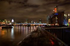 Thames & the Oxo Tower from Southbank.