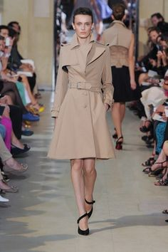 Bouchra Jarrar at Haute Couture Fashion Week Paris: A/W 2012-2013- The classic trench coat always comes back around