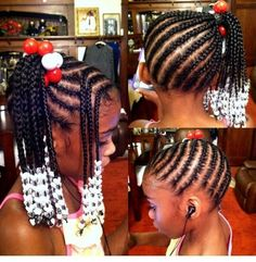 natural hair styles ith gel for girls Lil Girl Hairstyles, Girls Natural Hairstyles, Natural Hairstyles For Kids, Kids Braided Hairstyles, My Hairstyle, Teenage Hairstyles, Hairstyles Pictures, Little Girl Braids, Braids For Kids
