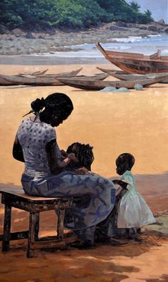 Artists - Rory Jackson - Old Main Gallery Black Art Painting, Black Artwork, African American Art, African Art, Arte Black, Black Love Art, Afro Art, Renaissance Art, Aesthetic Art