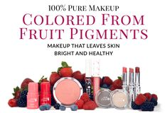 100% Pure Online Store: Carries All Natural Skincare, Bath & Body, Fruit Pigmented Makeup