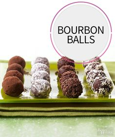 Get our easy recipe for bourbon balls, which is one of the best sweets you can serve at a party this summer. This decadent chocolate dessert is a no-bake treat that your friends and family will love.
