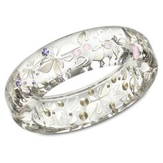 Swarovski - Swanflower Large Pastel Bangle