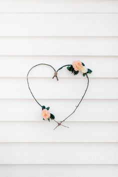 simple and beautiful heart