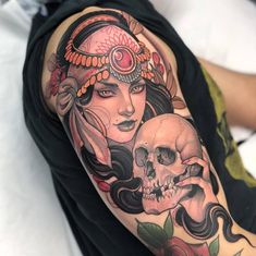 Beautiful babe made by at - GoPins! Cool Chest Tattoos, Head Tattoos, Body Tattoos, Life Tattoos, Worlds Best Tattoos, Most Popular Tattoos, Wolf Tattoos Men, Tattoos For Guys, Wolf Tattoo Design