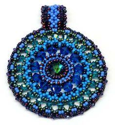 Color Medallion in Blue Marine