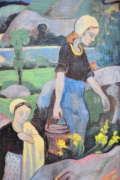 Paul Serusier (French Painter, 1863-1927) The Washerwoman 1891