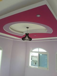 Home Decor: Girls And kids Room gypsum Bouard Decor Drawing Room Ceiling Design, House Ceiling Design, Ceiling Design Living Room, Bedroom False Ceiling Design, What Is Interior Design, Interior Work, Girl Bedroom Designs, Living Room Designs, Light Pink Bedrooms