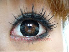 Barbie Eye Black Color Contact Lenses