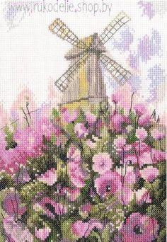 Набор для вышивки крестом РТО Старая мельница М551