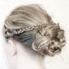 Hairbraid/braid bun