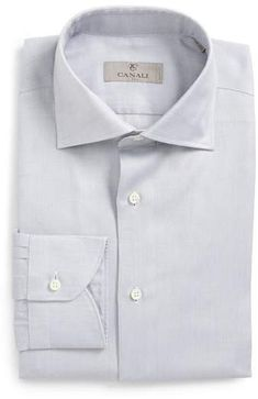 online shopping for Canali Trim Fit Solid Dress Shirt from top store. See new offer for Canali Trim Fit Solid Dress Shirt Fitted Dress Shirts, Shirt Dress, Geometric Dress, Grey Trim, Slim Fit Pants, Wool Suit, Sports Shirts, Hooded Sweatshirts, Mens Fashion