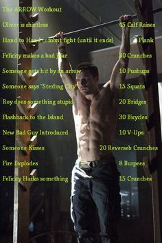 Arrow Tv Show Workout #fitness #workout #Arrow
