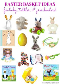 Easter Basket Ideas for Baby, Toddler, and Preschoolers! | Our Knight Life