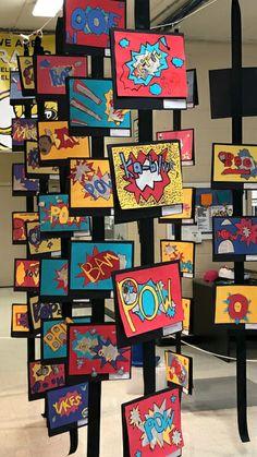 schule, The Cheyenne Experience: Colorado Springs as seen by Nikola Tesla Middle School Art, Art School, School Ideas, High School, 6th Grade Art, Ecole Art, School Art Projects, Collaborative Art, Art Lessons Elementary