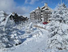 Snowshoe Ski Resort, West Virginia