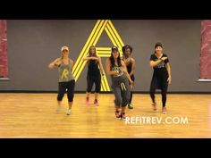 REFIT DANCE FITNESS, Where Have You Been Rihanna ~ Super FUN!