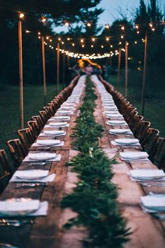 outdoor wedding reception ideas with lights Wedding Reception Ideas, Wedding Dinner, Garden Wedding, Wedding Planning, Dream Wedding, Trendy Wedding, Wedding Backyard, Wedding Rustic, Wedding Simple