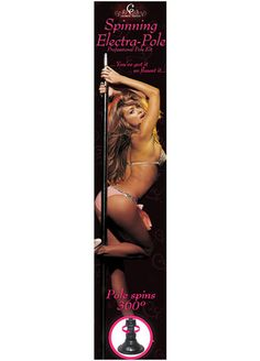Get sexy with every kind of move - on the Carmen Electra stripper pole - give pole dancing a spin! Carmen Electra shares her secrets in the Carmen Electra Spinning Dance Pole Kit