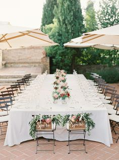 Tuscany Outdoor Spring Wedding