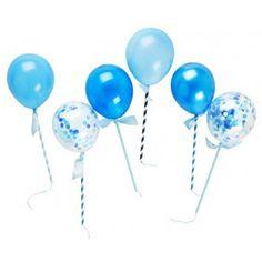 Handsome Balloon Pops (set of 6)