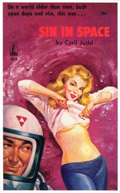 Fiction erotic book covers science