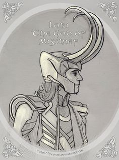 Loki - The God Of Mischief by ~Feyjane on deviantART