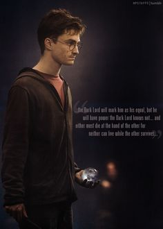 The prophecy that started it all...yes I am a Harry Potter nerd! :)