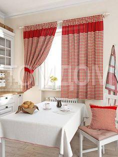 """Комплект штор """"Стазия (красн.)"""": купить комплект штор в интернет-магазине ТОМДОМ #томдом #curtains #шторы #interior #дизайнинтерьера"""