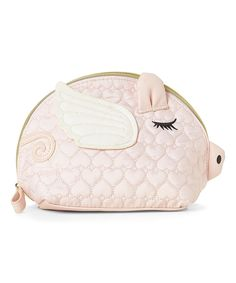 Take a look at this Pink Flying Pig Cosmetic Bag today!
