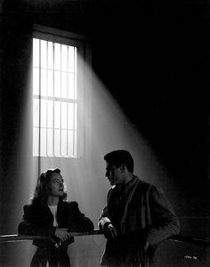 "Ella Raines and Alan Curtis, ""Phantom Lady"" (1944, Universal)"