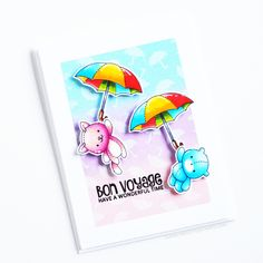 March Release Countdown Teasers Day Under My Umbrella Scrapbooking, Diy Scrapbook, Cheap Stamps, Copic Sketch Markers, White Gel Pen, Under My Umbrella, Ink Pads, Kids Cards, Teaser