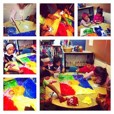 Wonders of Learning: Colour Inquiry Collaborative Art Project that incorporates exploring colours and sorting Kindergarten Inquiry, Kindergarten Colors, Inquiry Based Learning, Project Based Learning, Early Literacy, Numbers Preschool, Preschool Art, Art Classroom, Classroom Routines