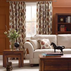 Wide range of pencil pleat and eyelet curtains from Dunelm. All curtain accessories such as net curtains and bead panel curtains as well as curtain poles and fitting available for home delivery. Curtains Dunelm, Net Curtains, Pleated Curtains, Curtain Poles, Curtains Ready Made, Curtain Accessories, Pencil Pleat, Terracotta, Lounge