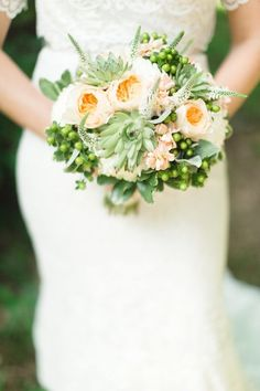 Check out these absolutely stunning ways to use succulents in your wedding   JoPhoto